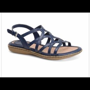 BOC Cora sandals 8 navy blue